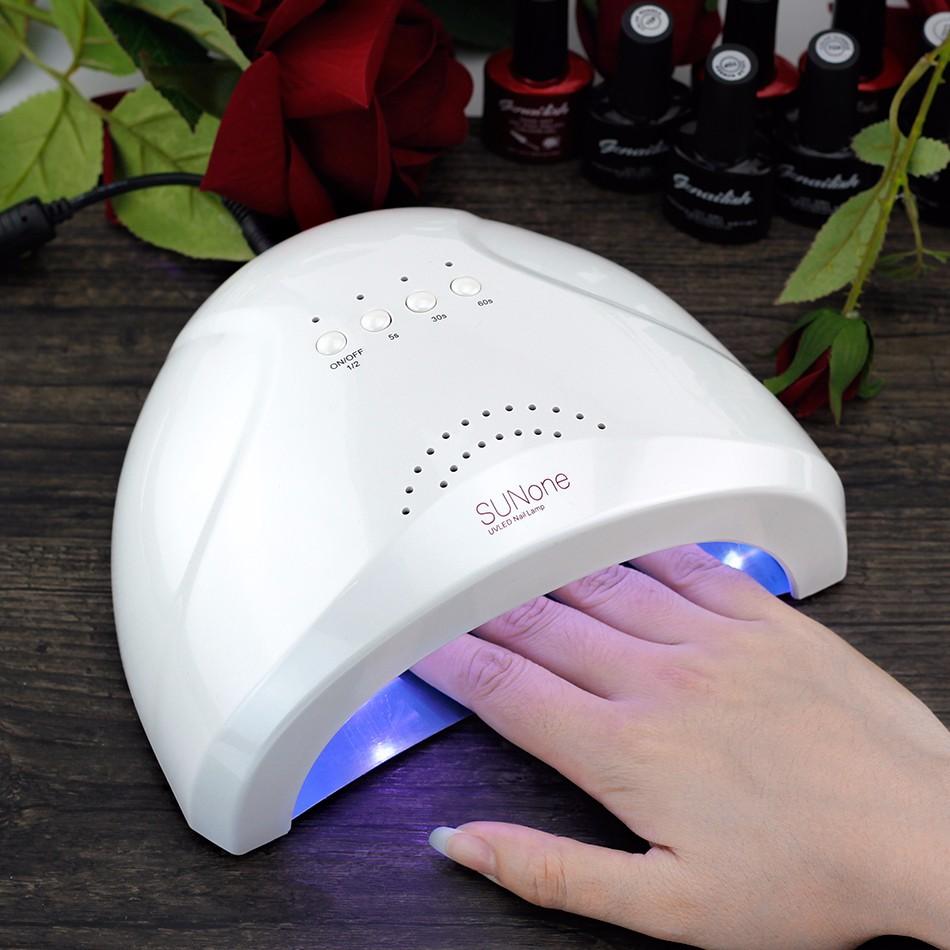Sunone-White-Light-48W-UV-LED-Lamp-UV-Gel-Nail-Dryer-365-405nm-Curing-UV-Gel