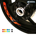 8 X CUSTOM INNER RIM DECALS WHEEL Reflective STICKERS STRIPES FIT SUZUKI GSXF