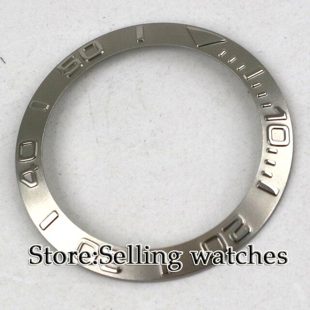 Srebrna ramka do zegarka 40mm wykonana przez fabrykę parnis