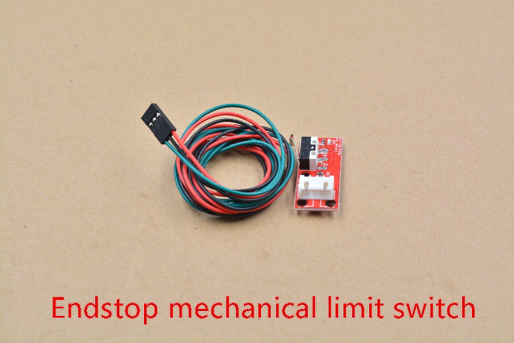 Switch mechanical limit endstop switch RAMPS 1.4 for RepRap Prusa Mendel 1pcs freeshipping 5pcs lot endstop mechanical limit switches 3d printer switch for ramps 1 4