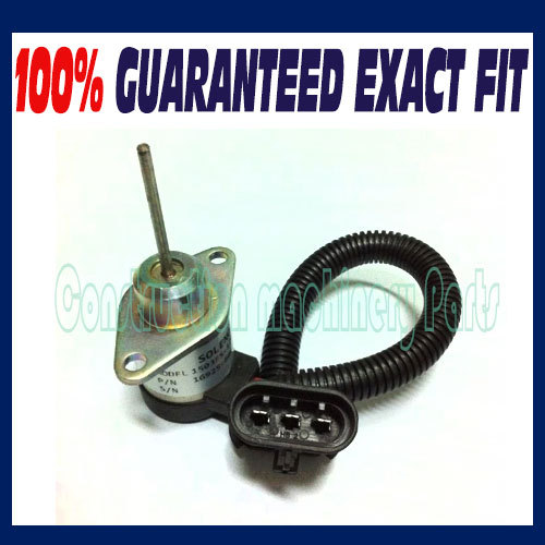 For BOBCAT 6691498 / 1503ES-12A5UC4S FUEL SHUT OFF SOLENOID SWITCH EXCAVATOR E35 E45 E50 E55 цена
