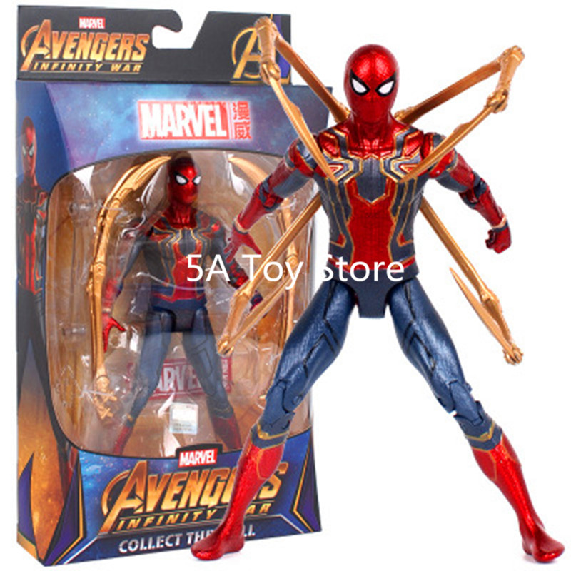Independent Spiderman Toys Marvel Super Hero The Amazing Spider-man Pvc Action Figure Collectible Model Toy 8 20cm Consumers First Action & Toy Figures