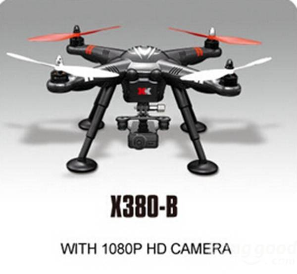 XK DETECT X380B 4CH GPS 2 4GHz RC Quadcopter with 1080P HD Camera Circle Hovering Headless