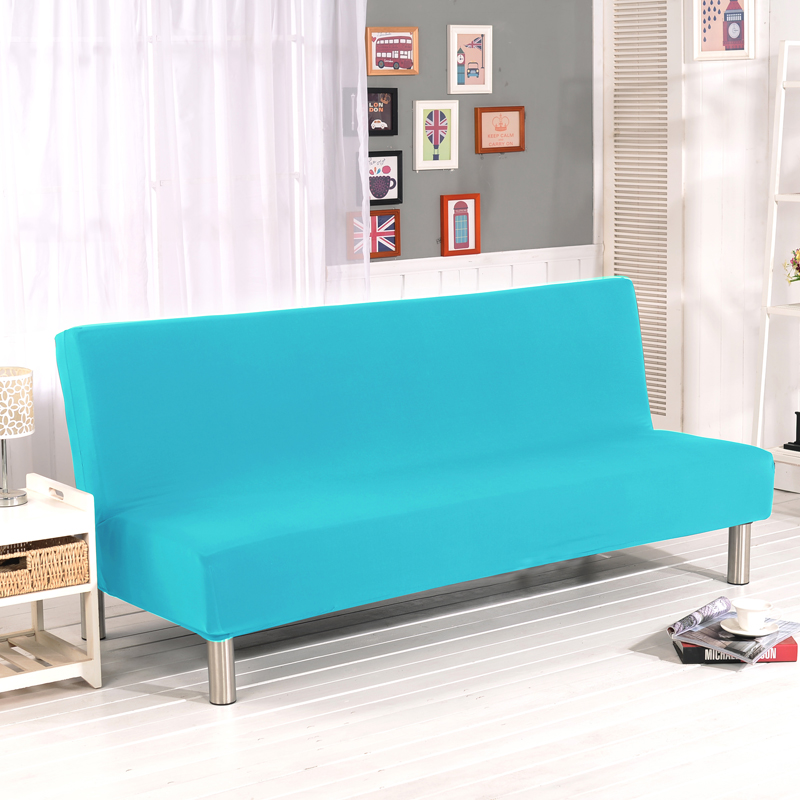 Cheap Sofa Cover: Stretch Sofa Cover Elastic Without Arm Couch Cover Sofa