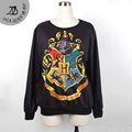 2016 new Knitted 3D Harry Potter Hogwarts sweatshirt sudaderas woman / man Hoodies Sweatshirts For moletom Women Clothing