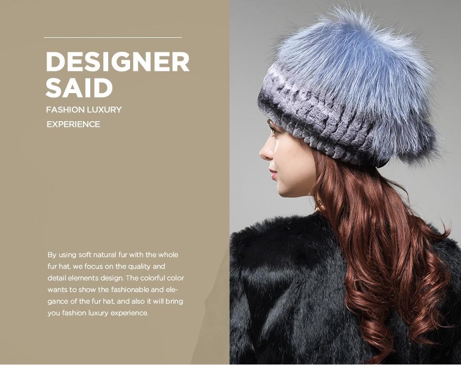 women\'s hats fur PCM002 (2)