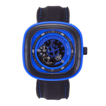 Brand original unique design square male watch large dial casual gear square quartz watch men's sports watches