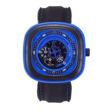 Brand original unique design square male watch large dial casual gear square quartz watch men's sports watches