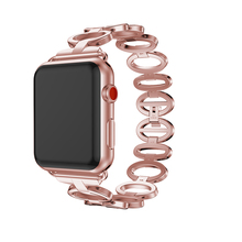 Fashion  Smart Watch Band for Apple Watch 42m/38mm Stainless Steel Smart Bracelet Luxury Watchband