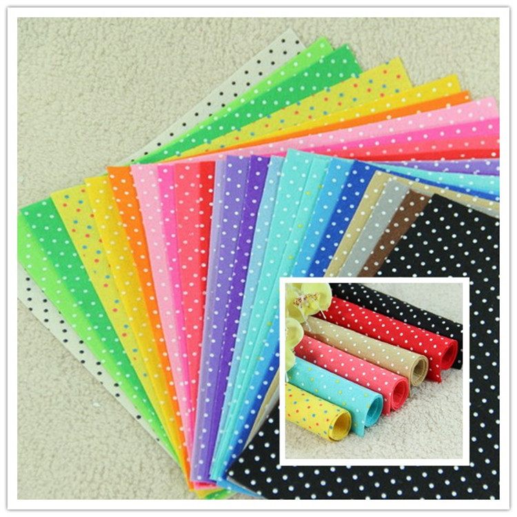 Buy new polyester nonwoven felt fabric for Polka dot felt fabric