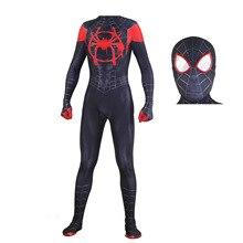 купить Wholesale Adult Kids Spider-Man 3 Raimi Spiderman Cosplay Costume Zentai Superhero Bodysuit Suit Jumpsuits по цене 983.48 рублей