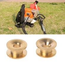 2Pcs Brass Trimmer Head Eyelet Garden Tool Part Strimmer Line Retainer Universal High Quality(China)