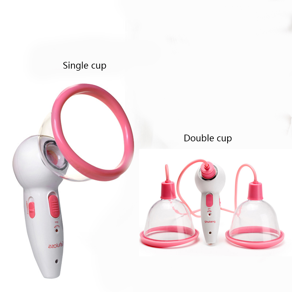 Electric Vacuum Suction Massager for Breast Enlargement Chest Body Skin Firming Blood Circulation chest beauty massager
