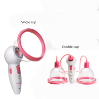 Electric Vacuum Suction Massager for Breast Enlargement Chest Body Skin Firming Blood Circulation chest beauty massager 110 240V