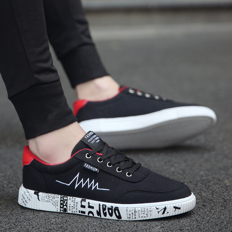 2019 Fashion New Casual Mens ShoesAutumn New Classic Designer Lace up Shoes Men Flats Breathable Shoes Zapatillas Hombre in Men 39 s Casual Shoes from Shoes