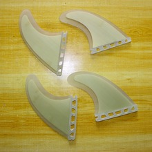 Efficiency Core Bamboo Veneer Thruster (four fin set) Future Base G5 Dimension Surfboard Fins