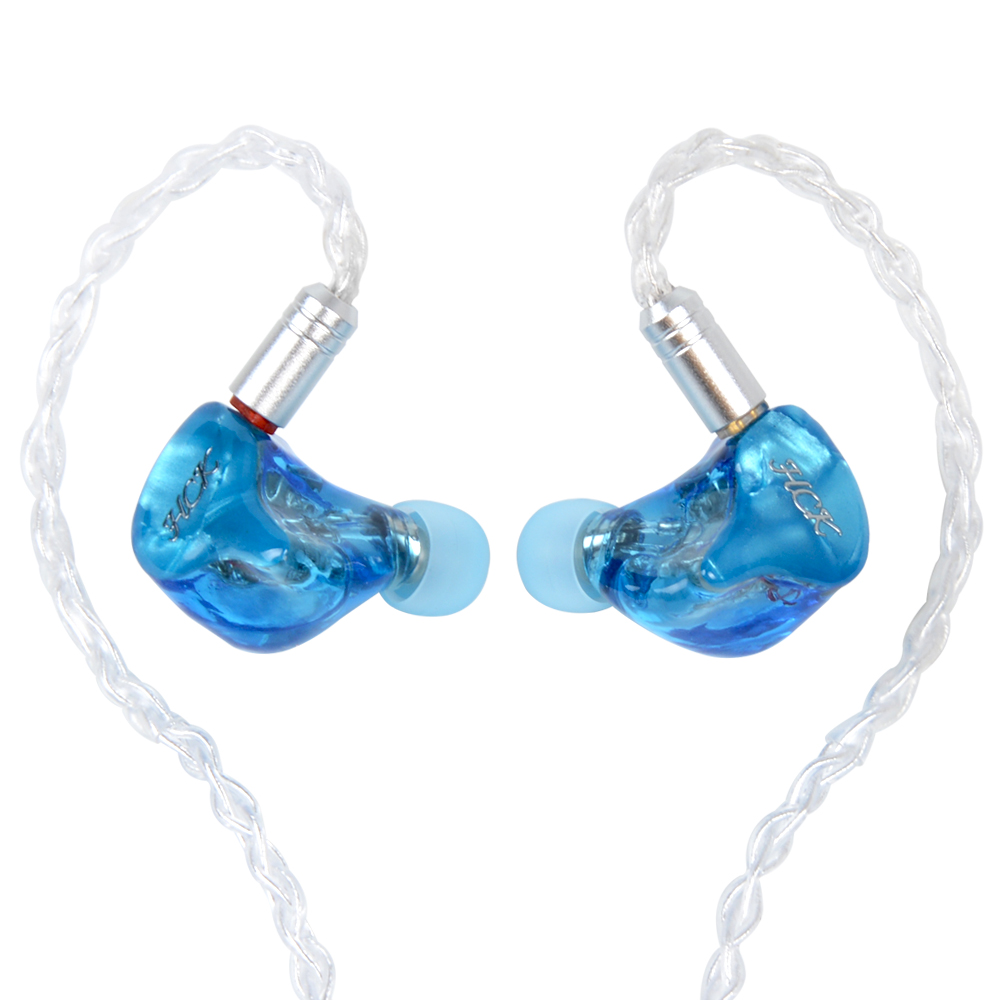 NICEHCK HK6 6BA Drive Unit 3.5mm In Ear Earphone 6 Balanced Armature Detachable Detach MMCX Cable Fever HIFI Custom Earphone