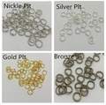 200Pcs 6mm 4 Colors Open Jump Rings Jewellery Making Findings DIY 4Q265