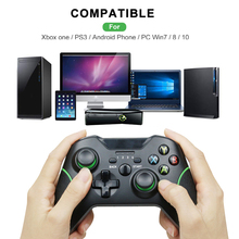 2.4G kablosuz denetleyici Gamepad Xbox One konsolu için Controle win 7/8/10 PS3 konsolu android/telefon/TV Joystick