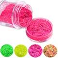 10g jar New Dazzling Mixed Colors Cheese Glitter Powder Decorations Tips Nail Art , DIY Craft Powder SN01-24