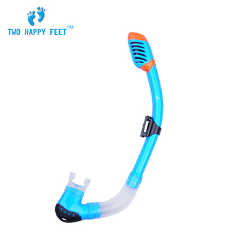 цена на Free Shipping Seal 100% Dry Snorkel SCUBA Spear Fishing Diving Free diving Swimming Blue