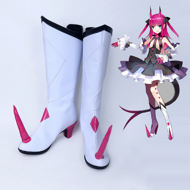 ebecf282d1 US $45.9 15% OFF Fate/EXTRA CCC Fate/Grand Order Elizabeth Bathory Cosplay  Costume Shoes Halloween Cosplay Boots Customized Free Shipping-in Shoes ...