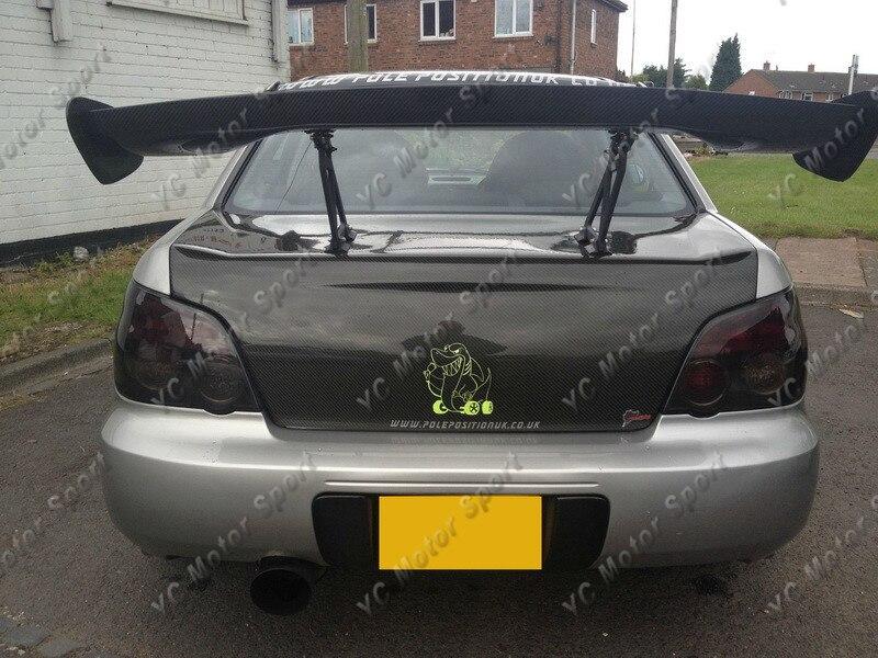 Car Accessories Carbon Fiber OEM Style Trunk Boot Lid Fit For 2002-2007 Impreza WRX STI 7th-9th GDA GDB Rear Bootlid Tailgate