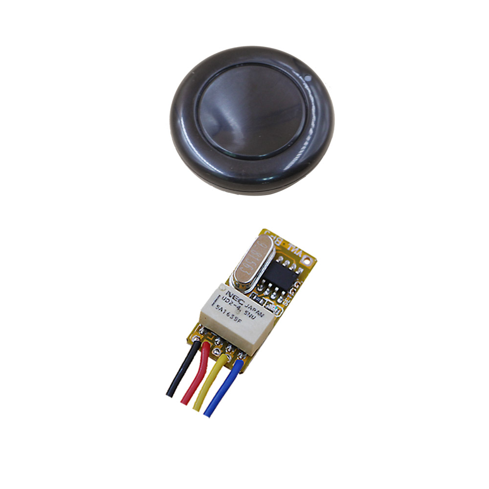Free Shipping DC3.5V 5V 6V12V 1CH Wireless Power Switch System Receiver & Transmitter Remote Controller 315/433mhz Hot Sales