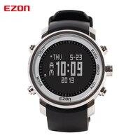 EZON восхождение Смотреть Спорт на открытом воздухе наручные часы Многофункциональный Компасы высота барометр цифровые часы H506B01