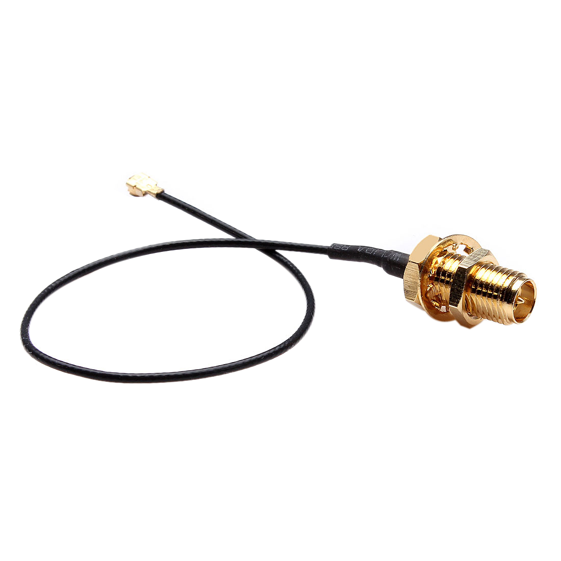 где купить 15cm U.FL/IPX to RP-SMA Female Antenna Pigtail Jumper Cable Gold по лучшей цене