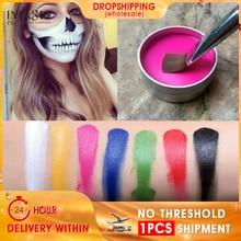 IMAGIC Face Paint Halloween Makeup Non-toxic Water Oil Christmas Party Fancy Dress Devil Fans Body Painting Primer