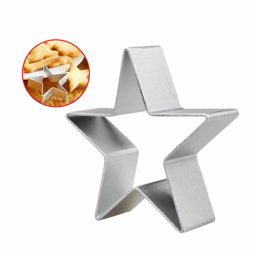 new arrival 2017  Baby Kid Kitchen DIY Cookies Cake Mould Cartoon Mousse Ring Baking Mold #0817 B