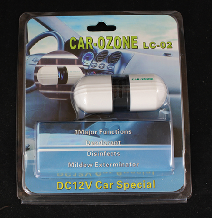 Voiture Générateur d'ozone Co2 Aquarium Bricolage Co2 Générateur Co2 Générateur Gerador De Ozonio Portable Voiture D'ozone Purificateur D'air