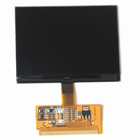 10 Sztuk/partia dla audi A6 A3 wyświetlacz LCD Wyświetlacz LCD A3 Klastra A6 A3 A4 A6 S6 S3 S4 VW VDO wyświetlacz VDO LCD dhl Darmo