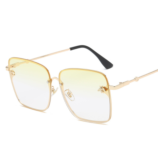 2019 Oversize Square Sunglasses Men Women Celebrity Sun Glasses