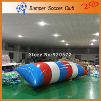Free Shipping Free Pump 5x2m Inflatable Water Blob Jump Pillow Water Blob Jumping Bag Inflatable Water Trampoline For Sale