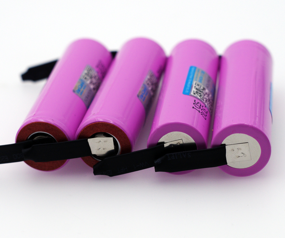 4PCS VariCore <font><b>original</b></font> brand for <font><b>samsung</b></font> INR18650 <font><b>30Q</b></font> 3000mAh lithium battery inr18650 powered rechargeable battery+DIY Nickel image