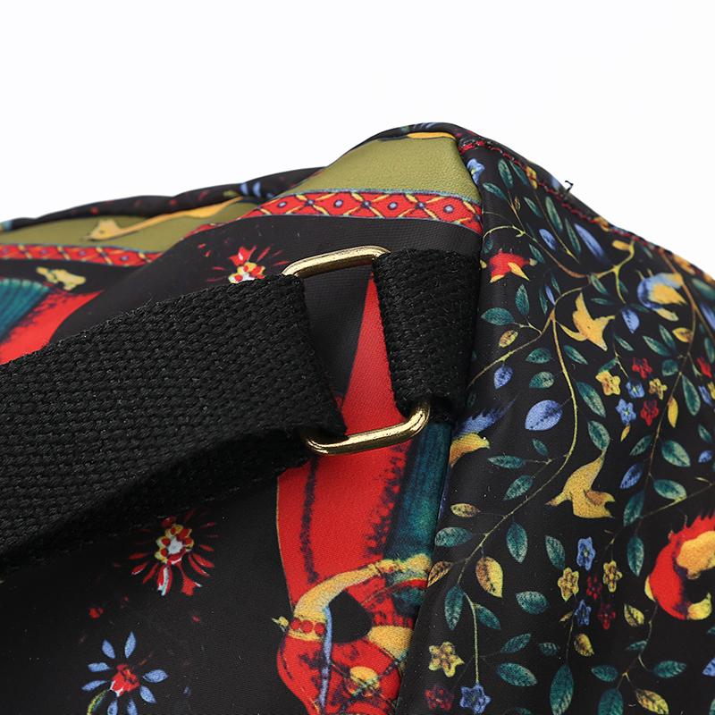 2019 New Women Emoji Shoulder Bag Best Travel Women Backpack Female Printing Waterproof School Knapsack mochila Bagpack Pack 22