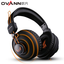 OVANNชุดหูฟังgamerหูฟังเล่นเกมกับไมโครโฟนfone de o uvidoหูฟังบิ๊กงอกเสียงเบสa udifonosสำหรับคอมพิวเตอร์