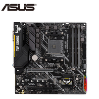ASUS TUF B450M PLUS GAMING AMD B450 Desktop Mainboard Socket AM4 Dual Channel DDR4 Micro ATX Motherboard