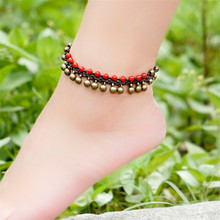women anklet 2016 new accessories DIY weave 2 colors copper alloy foot rope jewelry wholesale anklets girl gifts BT07