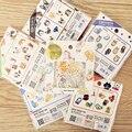 E43 60-70 шт. Смешанный Творческий diy милые декоративные наклейки МВТ мелких животных наклейки Дети стикер дневник стикер pack