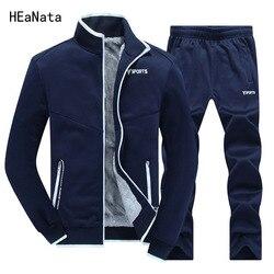 Mannen Dikker Trainingspak Designer Printing Plus Size Winter Hoodies Fleece Sweatshirts Pak Mannen Sportwear Moletom Masculino