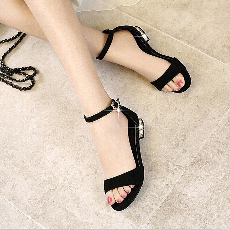 Women Sandal Summer Shoes Women Peep Toe Casual Shoes Buckle Strap Sandal Female Summer Sexy Female Sandals