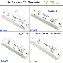 BC-961/BC-962/BC-963/BC-964 1CH/2CH/3CH/4CH High Frequency led power repeater,for single color/RGB/RGBW strip light controller