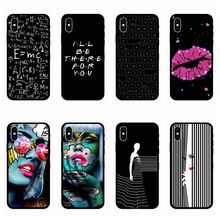 Vintage Graffiti victoria secret pink phone case For coque iphone 7 8 6 6s plus XS max case silicon shell for iphone cover X XR недорого
