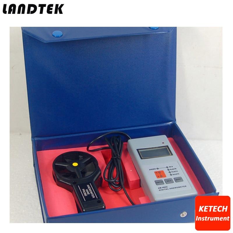 AM4822 Lantek Portable Digital Speed AnemometerAM4822 Lantek Portable Digital Speed Anemometer