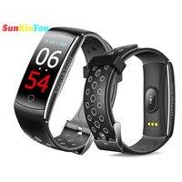 For Samsung Galaxy J7 J5 J3 J1 U19 Smart Wristband Bracelet Dynamic Heart Rate Blood Pressure Oxygen Fitness Tracker Smart Band