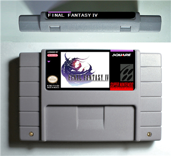 Final Fantasy IV 4 - RPG Game Battery Save US Version image