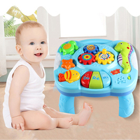 Baby Music Table Toys Musical Instrument Electric Toys for Children Gift Animal Farm Piano Early Learning Table Educational